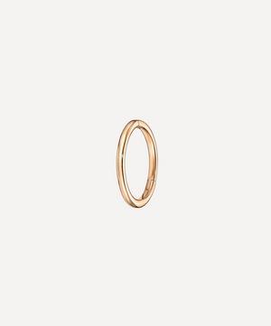 8mm Plain Hoop Earring