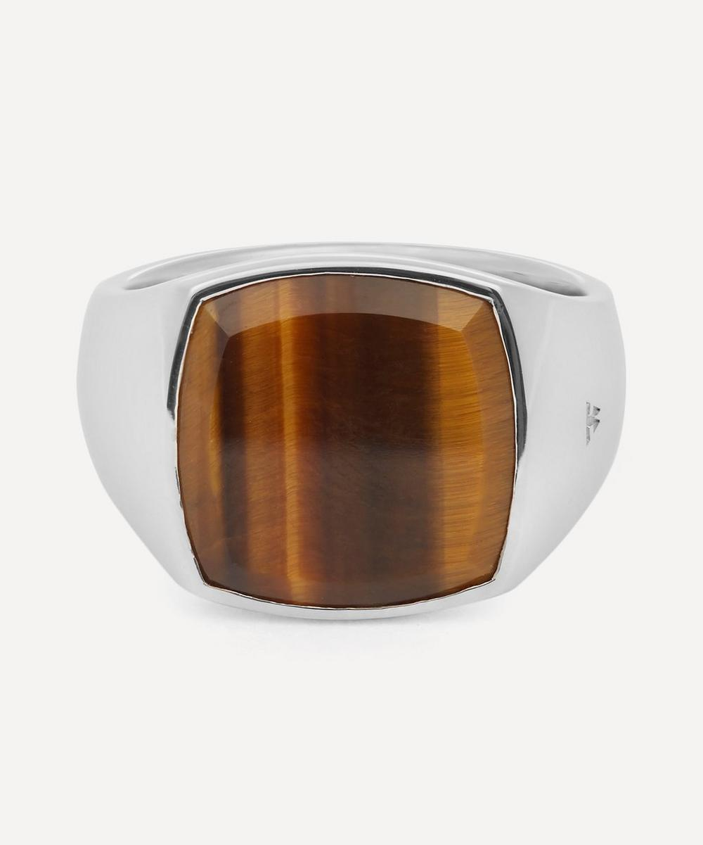 Tom Wood - Cushion Tiger Eye Ring