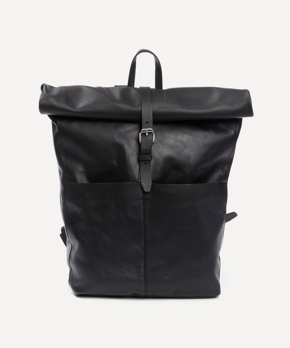 Sandqvist - Antonia Leather Rolltop Backpack