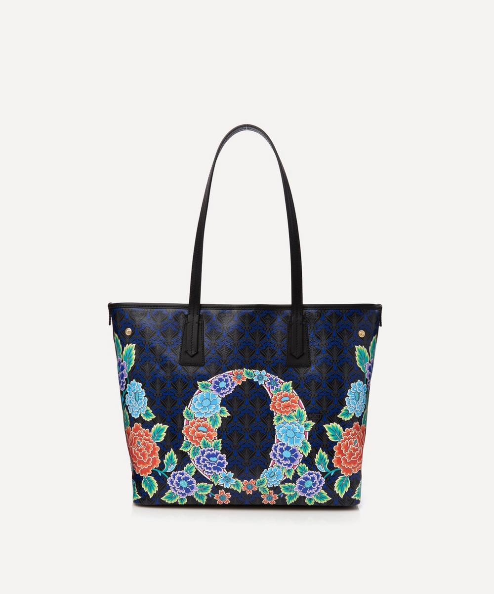 Liberty - Little Marlborough Tote Bag in O Print