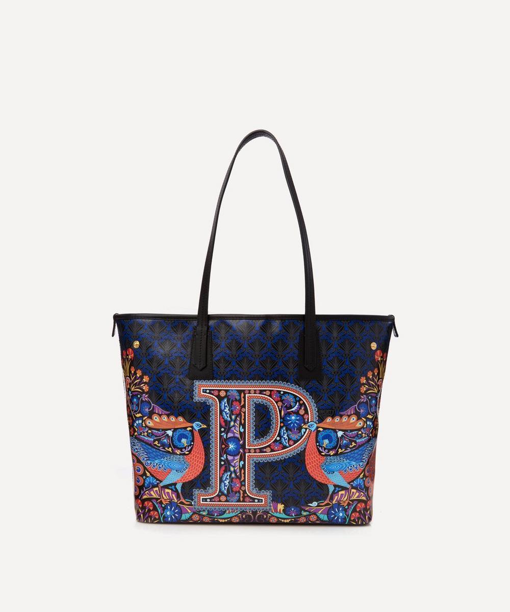 Liberty - Little Marlborough Tote Bag in P Print