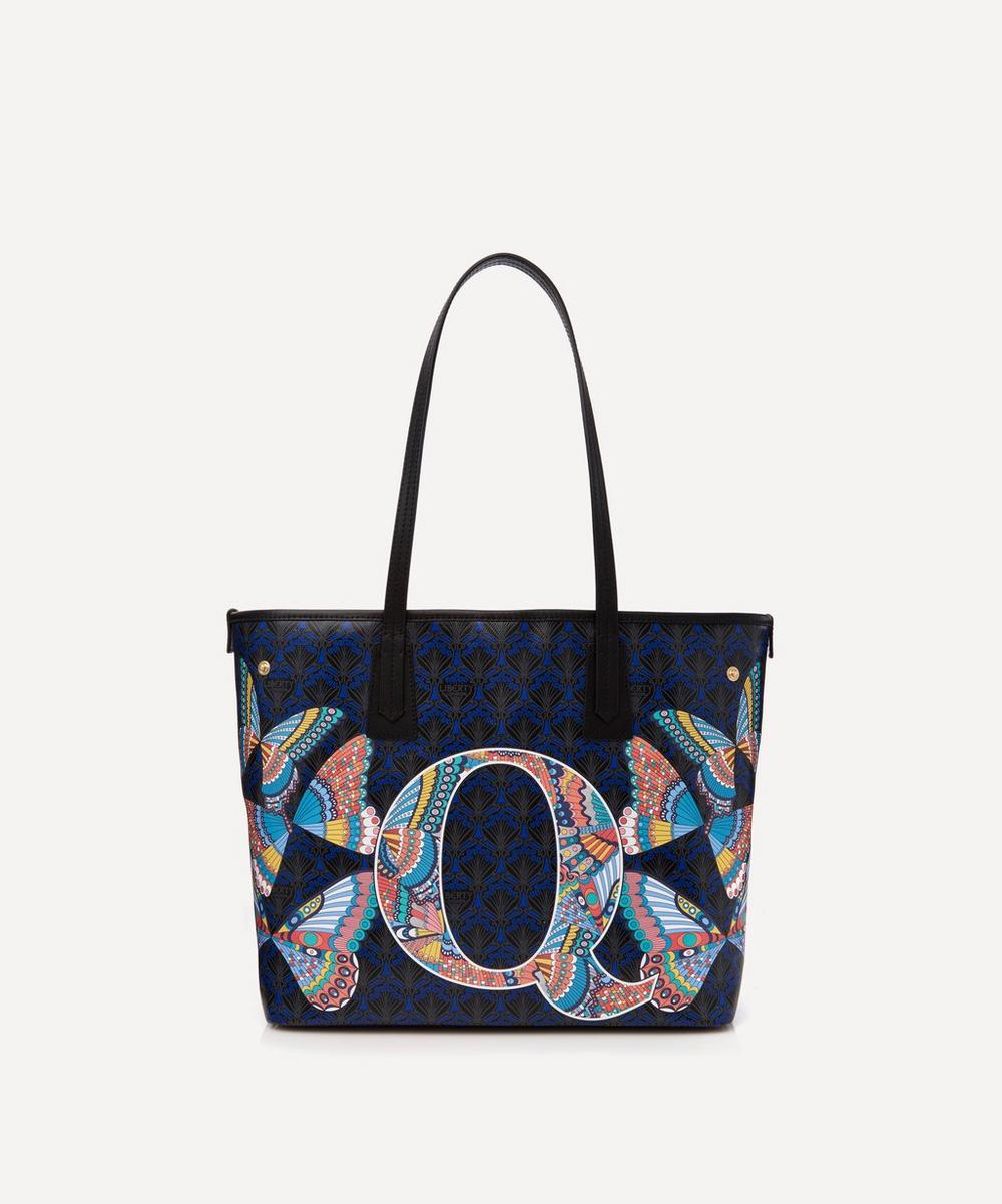 Liberty - Little Marlborough Tote Bag in Q Print
