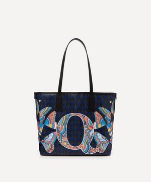 Little Marlborough Tote Bag in Q Print
