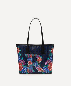 Little Marlborough Tote Bag in R Print