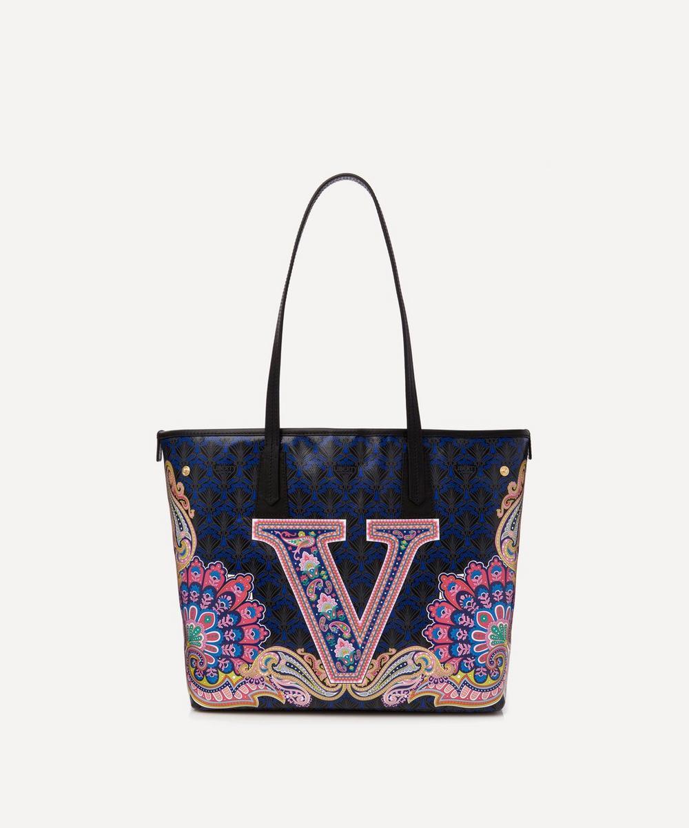 Liberty - Little Marlborough Tote Bag in V Print