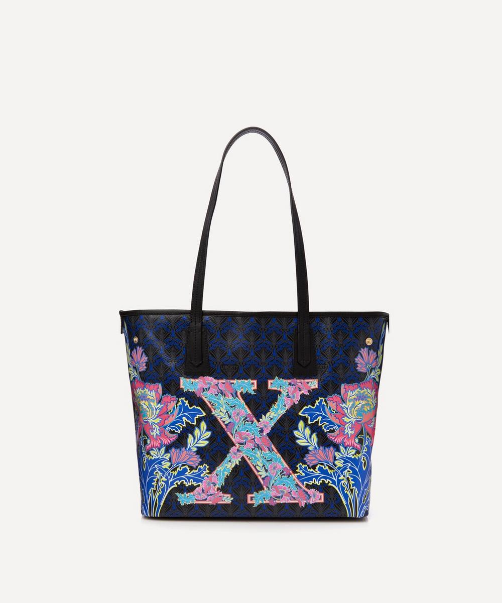 Liberty - Little Marlborough Tote Bag in X Print