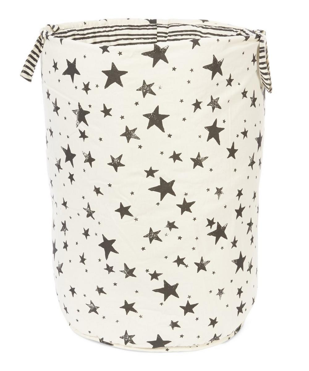 Noe & Zoe - Large Star and Stripe Print Storage Basket