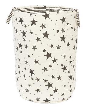 Large Star and Stripe Print Storage Basket