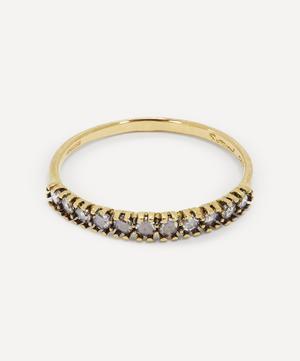 Antique-Style Diamond Half Eternity Ring