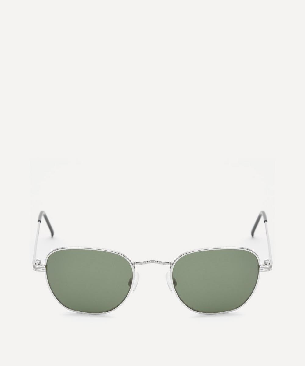 Moscot - Kibits Square Silver-Tone Metal Sunglasses