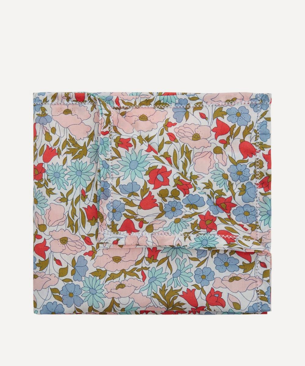 Liberty London - Assorted Patterned Handkerchief 27 x 27cm
