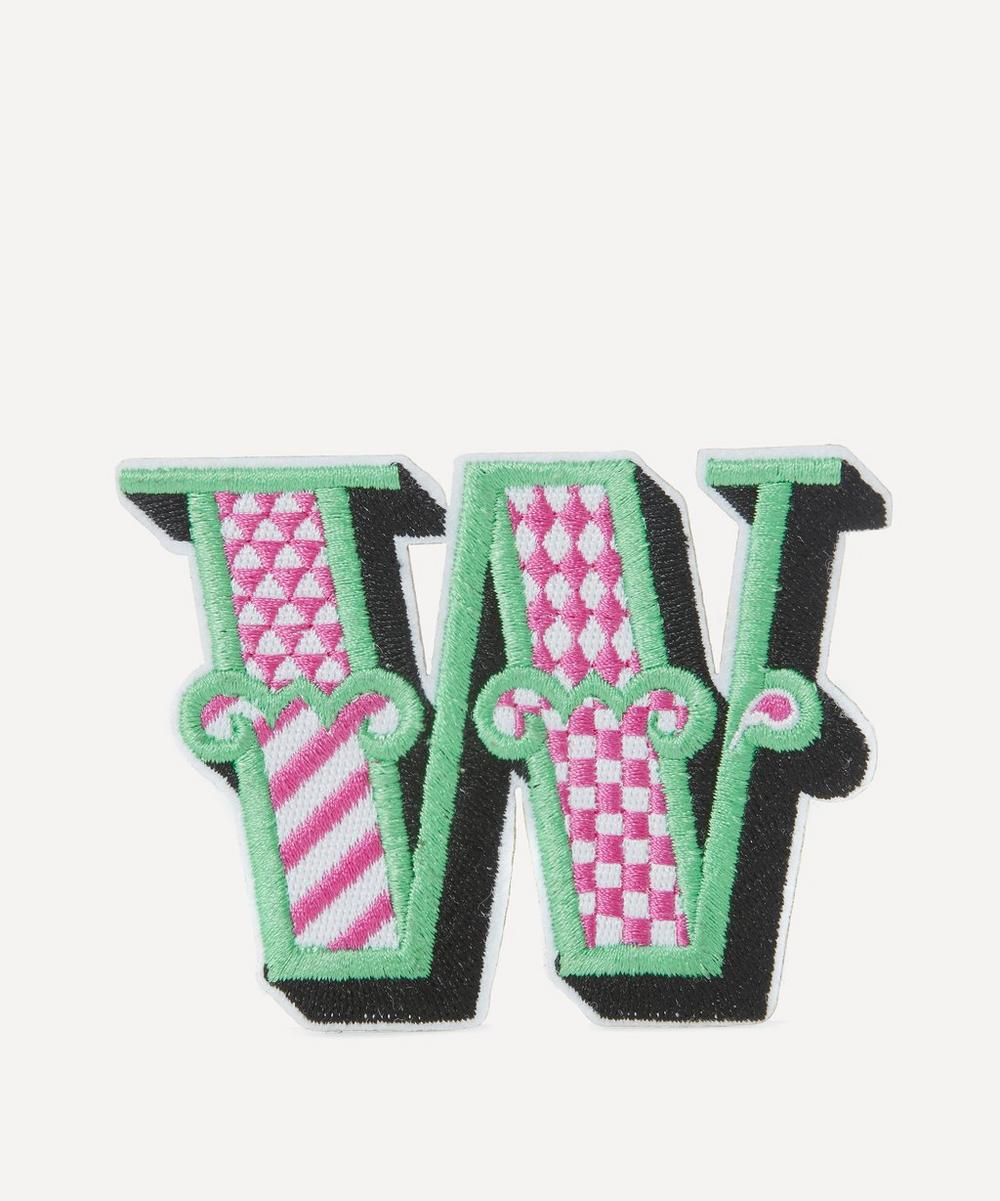 Liberty - Embroidered Sticker Patch in W