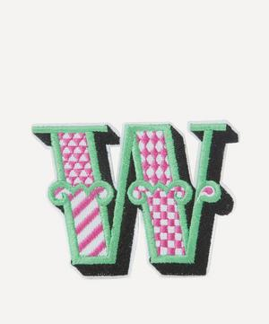 Embroidered Sticker Patch in W