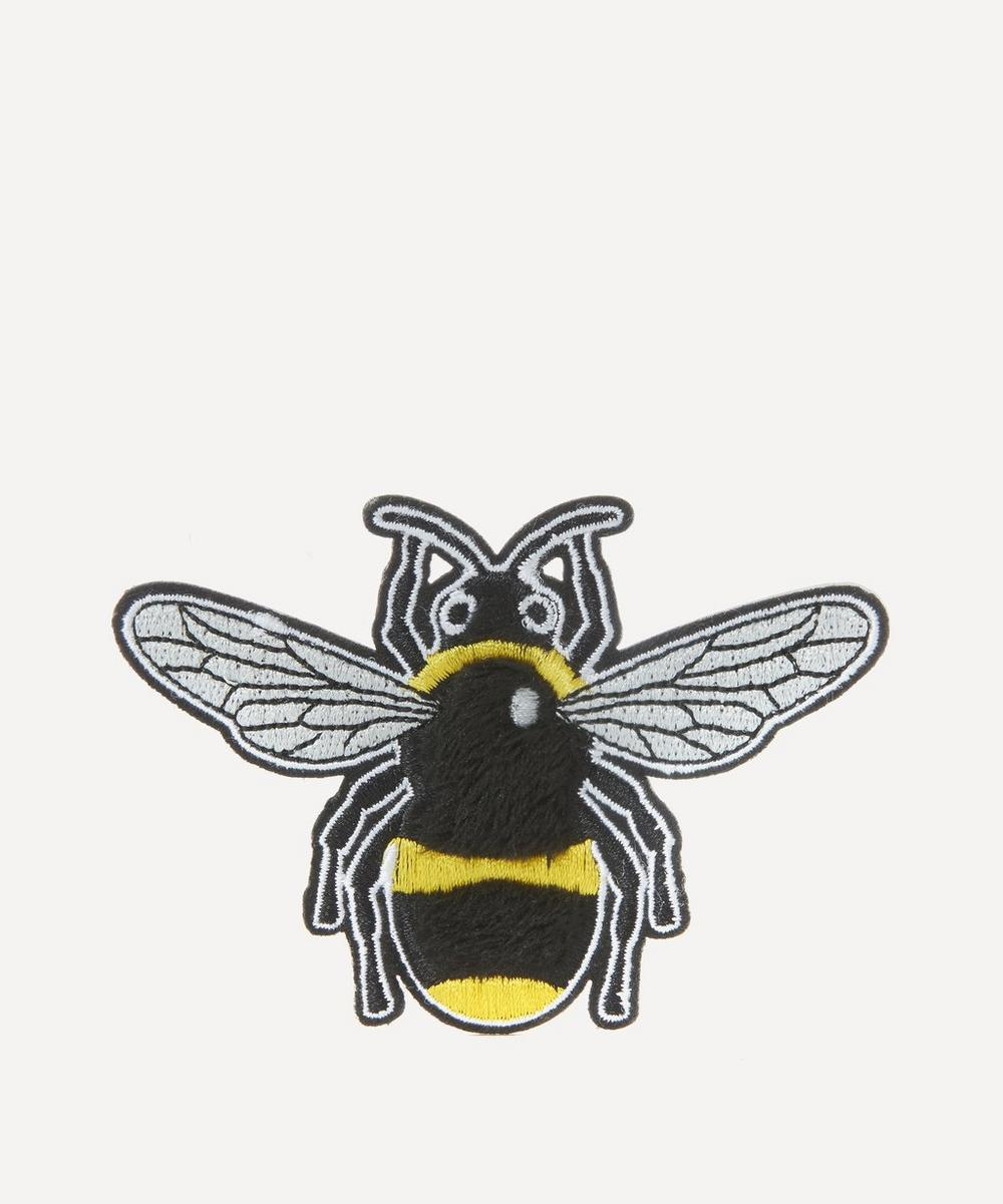 Liberty - Embroidered Bee Sticker Patch