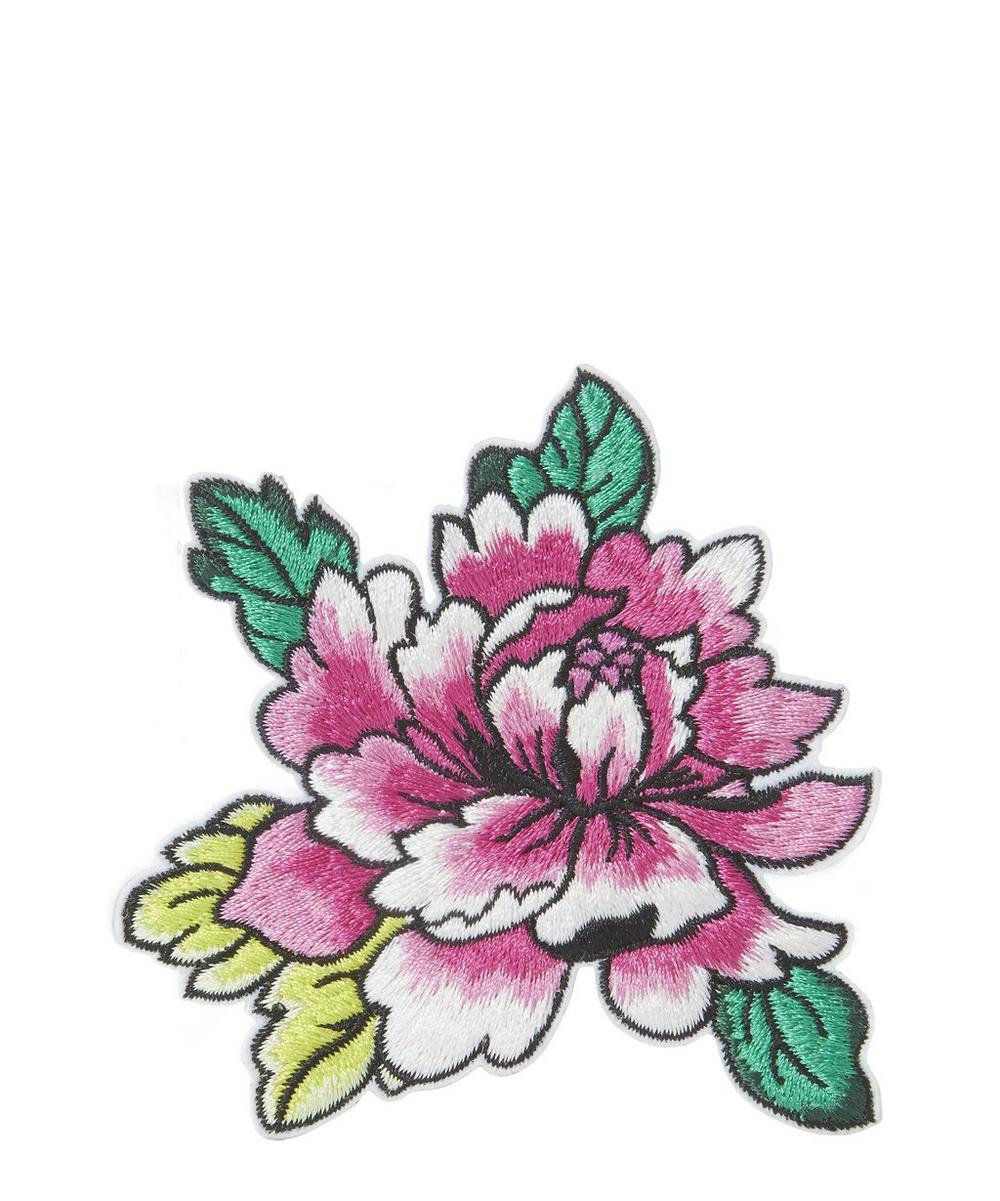 Liberty - Embroidered Flower 1 Sticker Patch