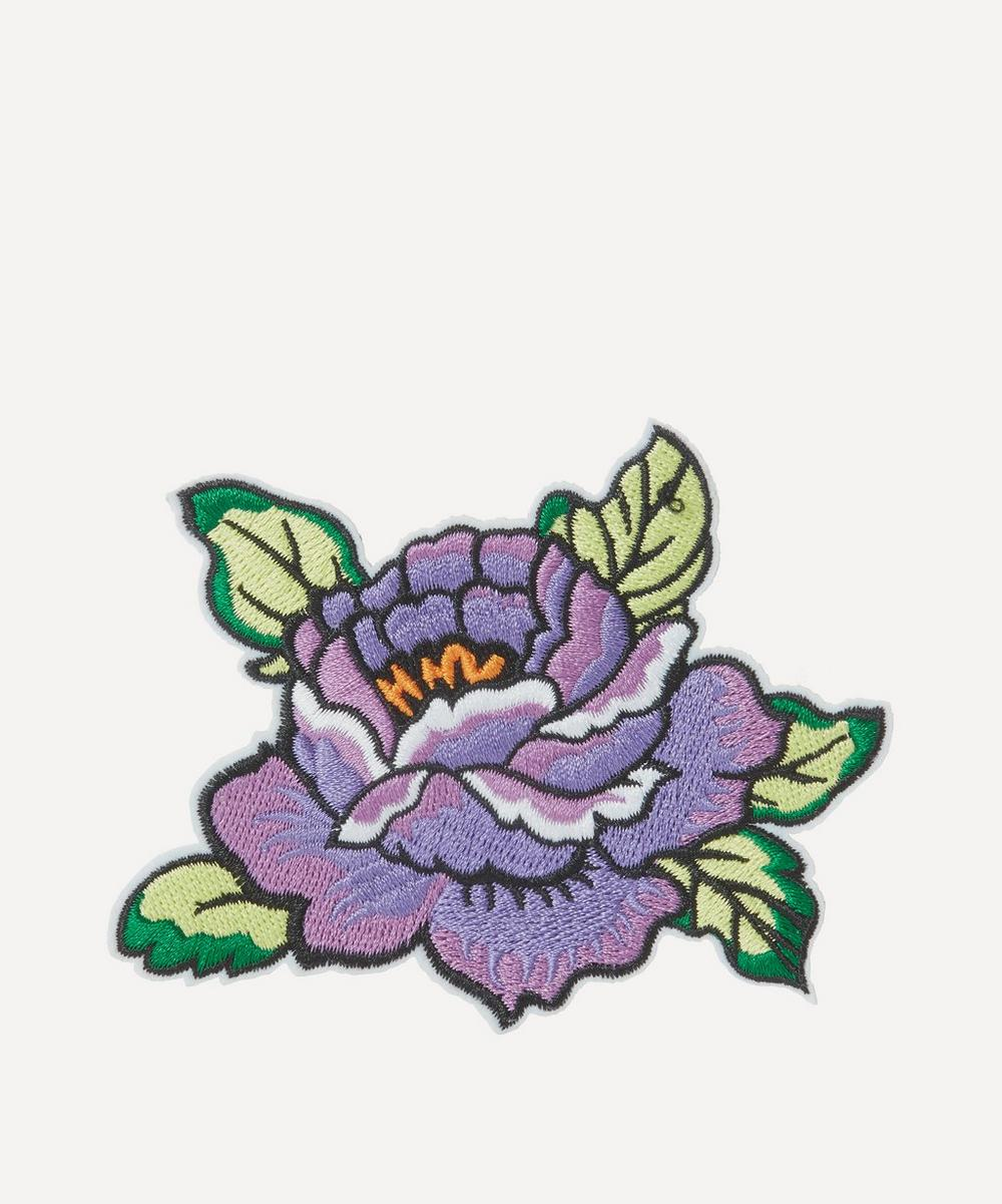Liberty - Embroidered Flower 2 Sticker Patch