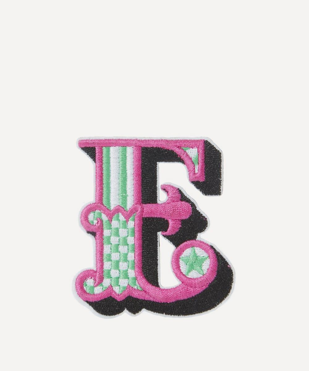 Liberty - Embroidered Sticker Patch in E