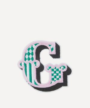 Embroidered Sticker Patch in G