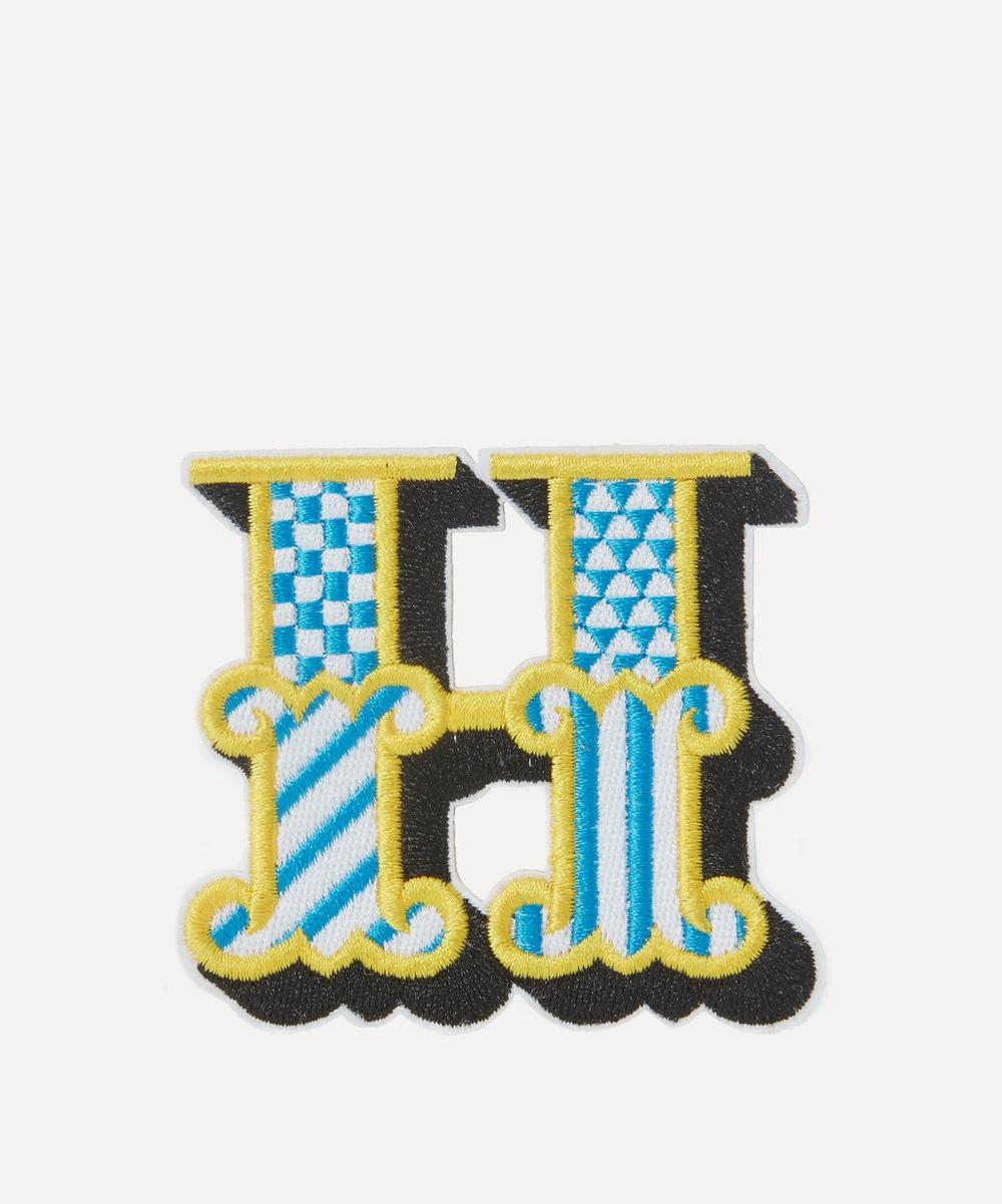 Liberty - Embroidered Sticker Patch in H