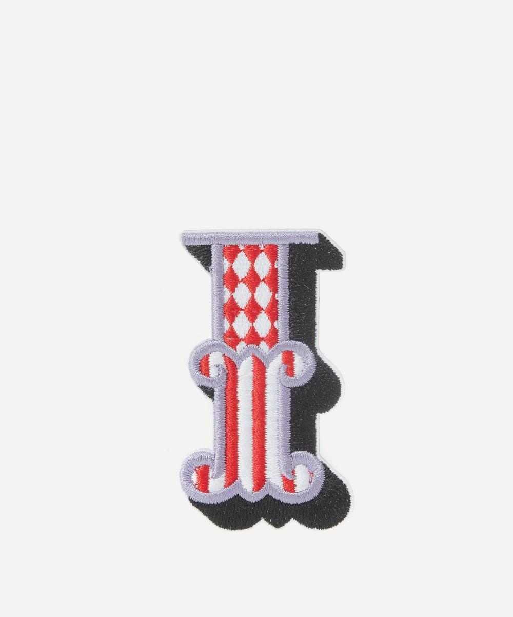 Liberty - Embroidered Sticker Patch in I