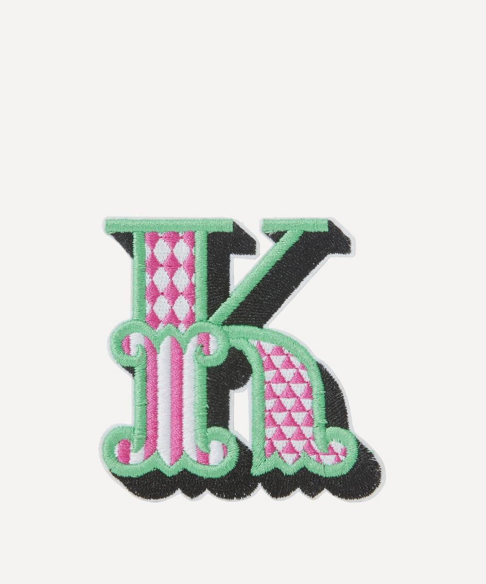 Liberty - Embroidered Sticker Patch in K