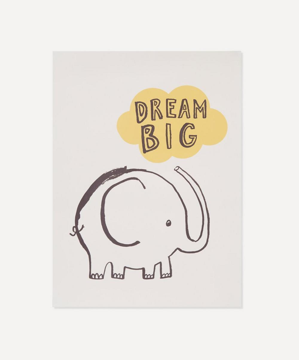 Karin Akesson - Dream Big Elephant Print