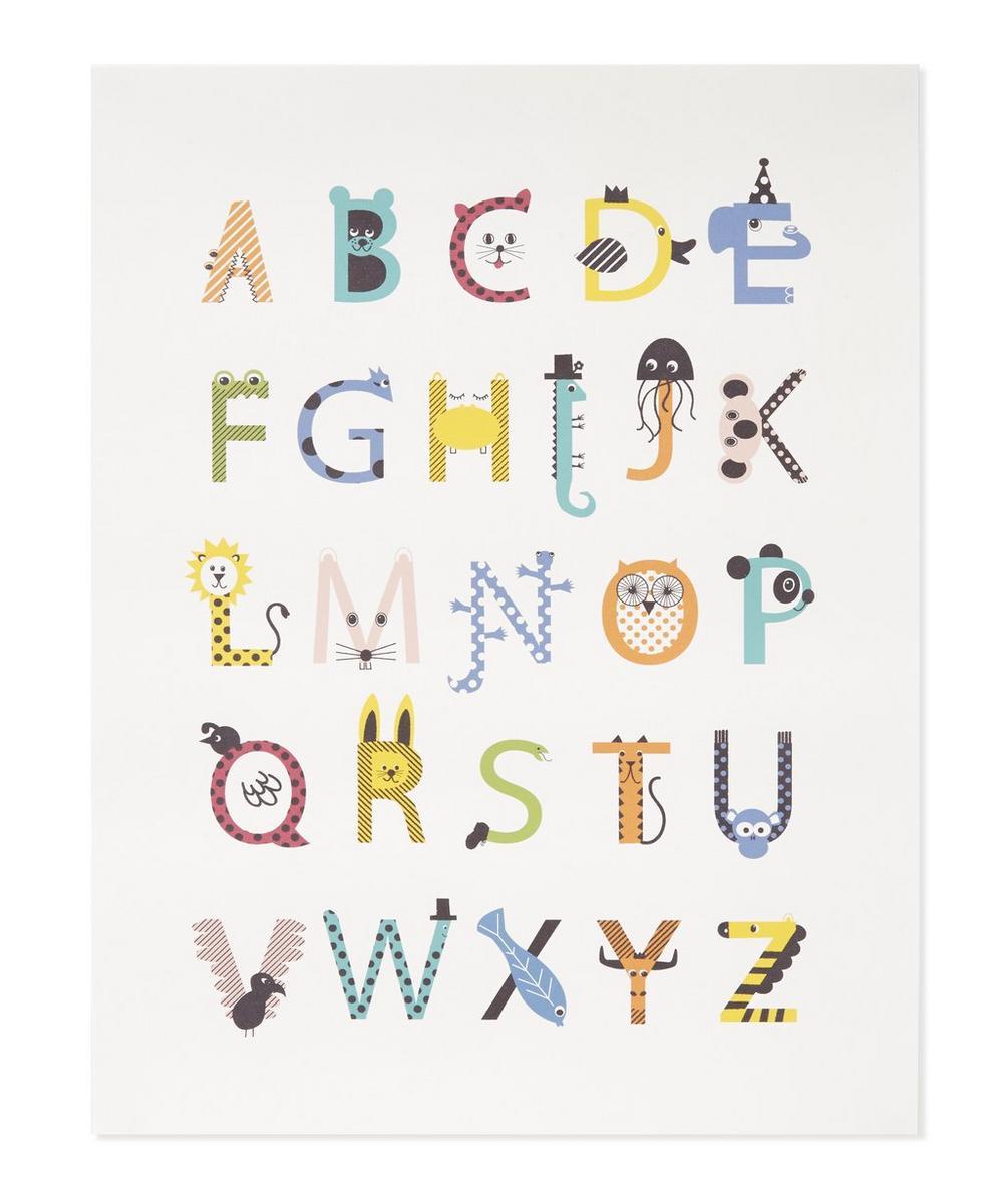Karin Akesson - Animal Alphabet Print