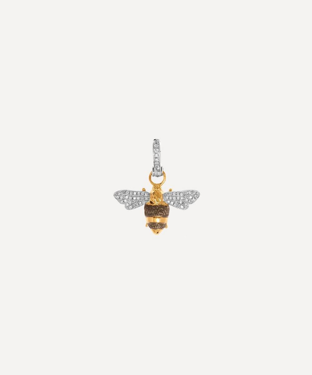 Annoushka - 18ct Gold Mythology Diamond Bumblebee Pendant