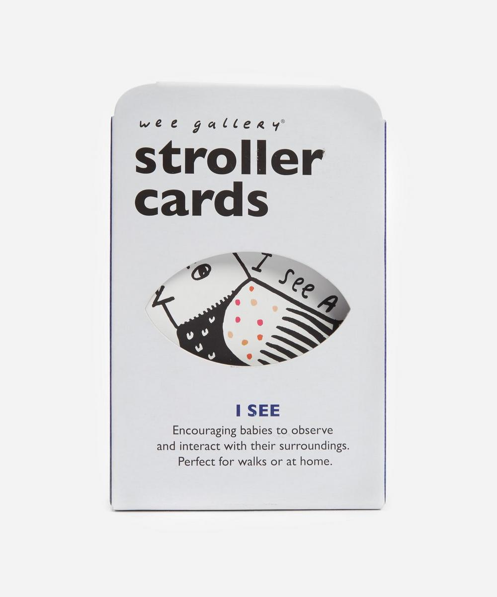Wee Gallery - I See Stroller Cards