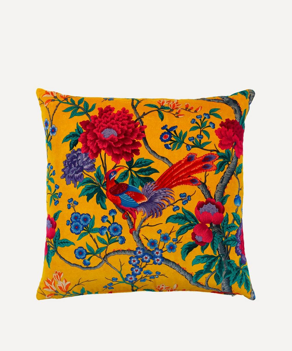 Liberty - Elysian Paradise Velvet Cushion