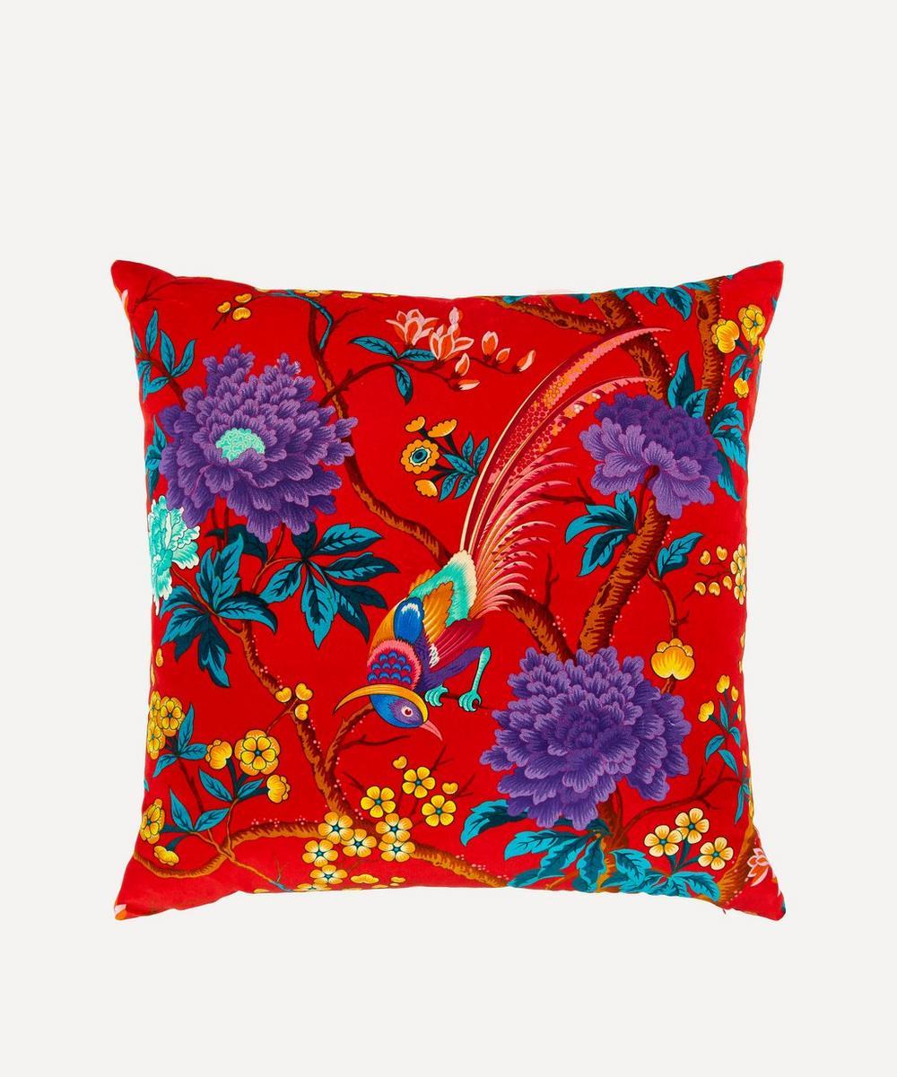 Liberty - Elysian Paradise Velvet Cushion