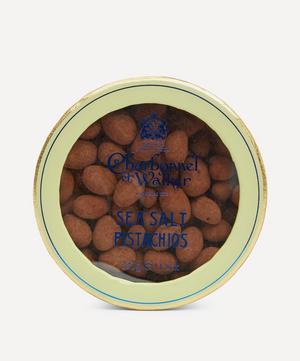 Milk Chocolate Sea Salt Pistachios 335g