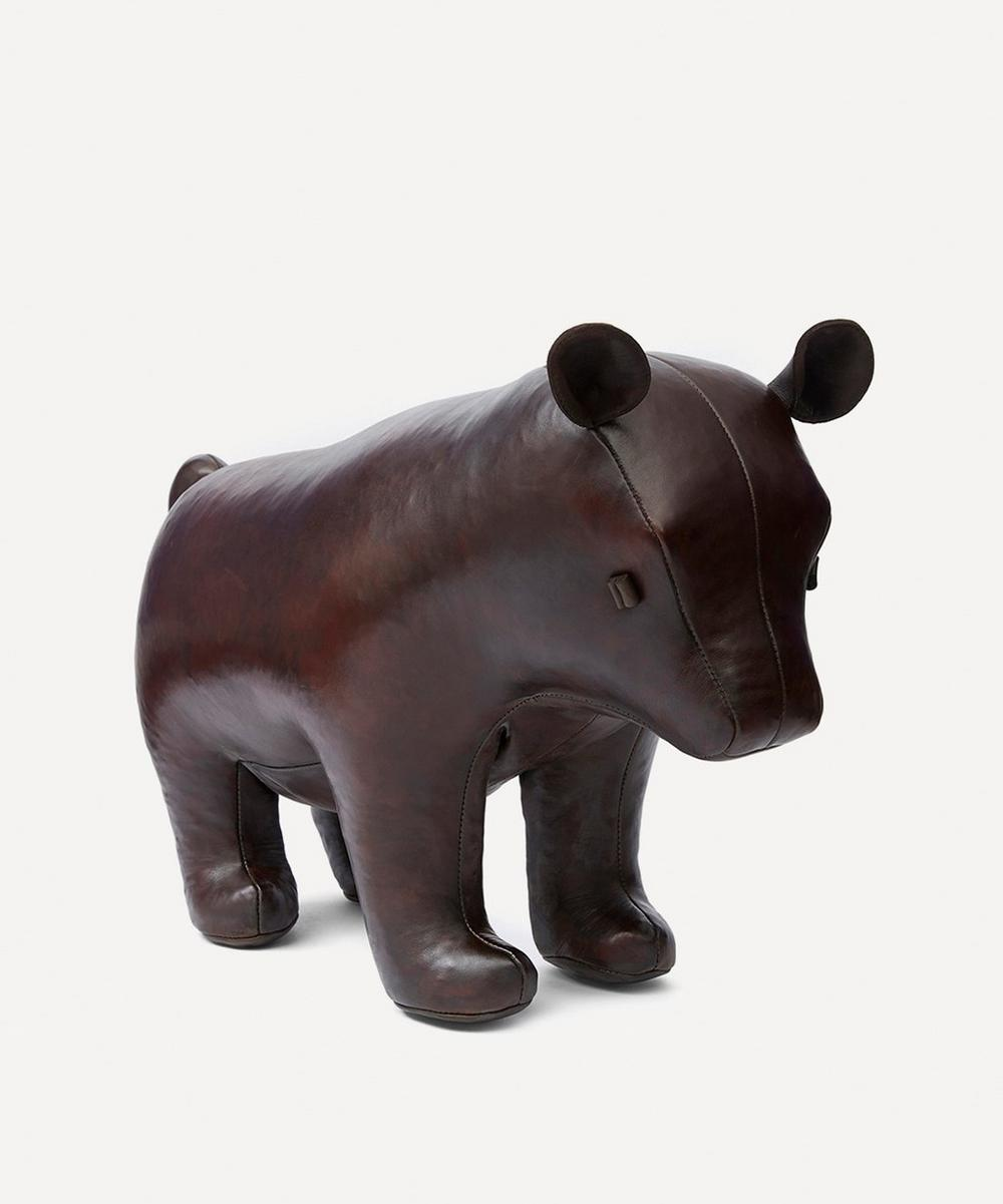 Omersa - Medium Leather Brown Bear