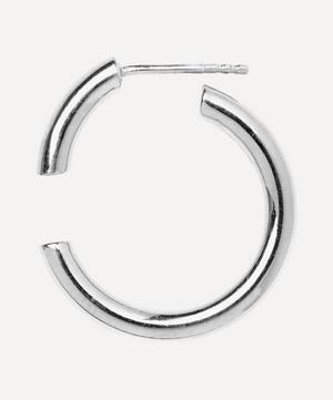 Silver Disrupted 22 Earring
