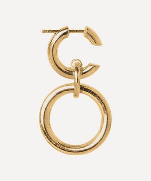 Gold-Plated Dogma Hoop Earring