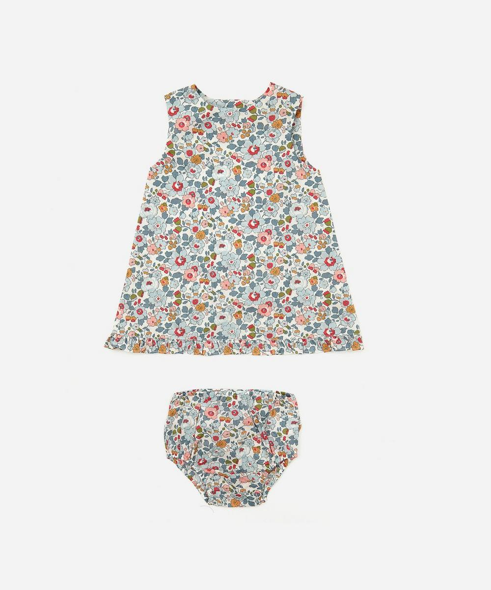 Liberty London - Betsy Wrap Dress and Bloomers 3 Months-3 Years