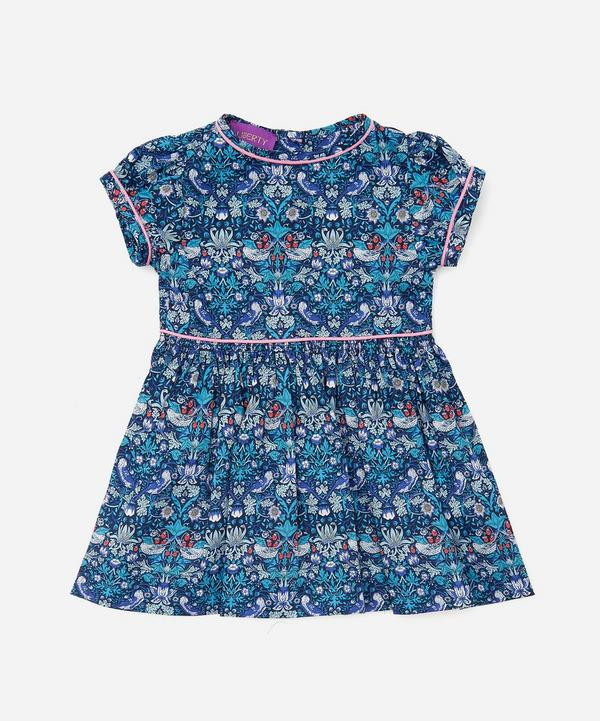 Liberty - Strawberry Thief Short Sleeved Dress 3-24 Months