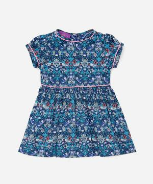 Strawberry Thief Short Sleeved Dress 3-24 Months