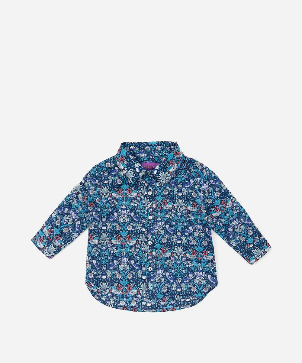 Liberty - Strawberry Thief Long Sleeved Shirt 3-24 Months