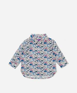 Queue For The Zoo Tana Lawn™ Cotton Shirt 3-24 Months
