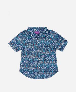 Strawberry Thief Short Sleeve Tana Lawn™ Cotton Shirt 3-24 Months