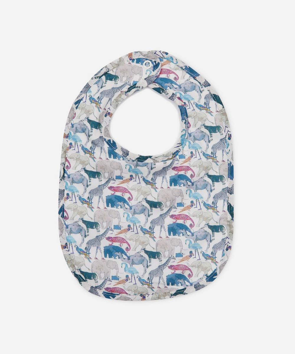 Liberty London - Queue For The Zoo Bib