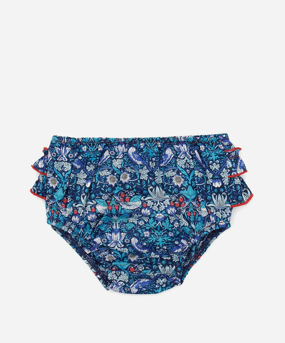 Liberty London - Strawberry Tana Lawn™ Cotton Thief Bloomers 3 Months - 3 Years