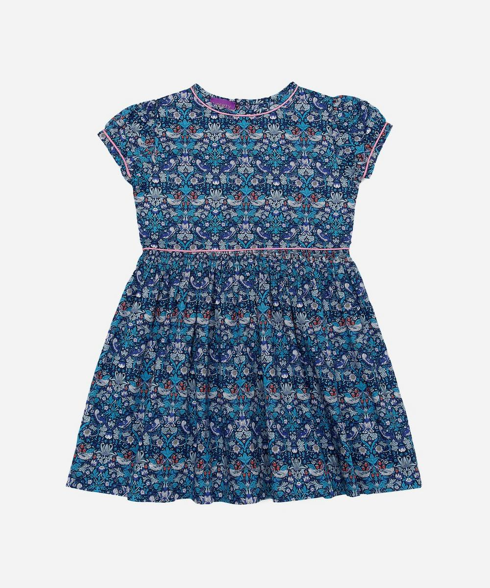 Liberty London - Strawberry Thief Tana Lawn™ Cotton Dress 2-10 Years