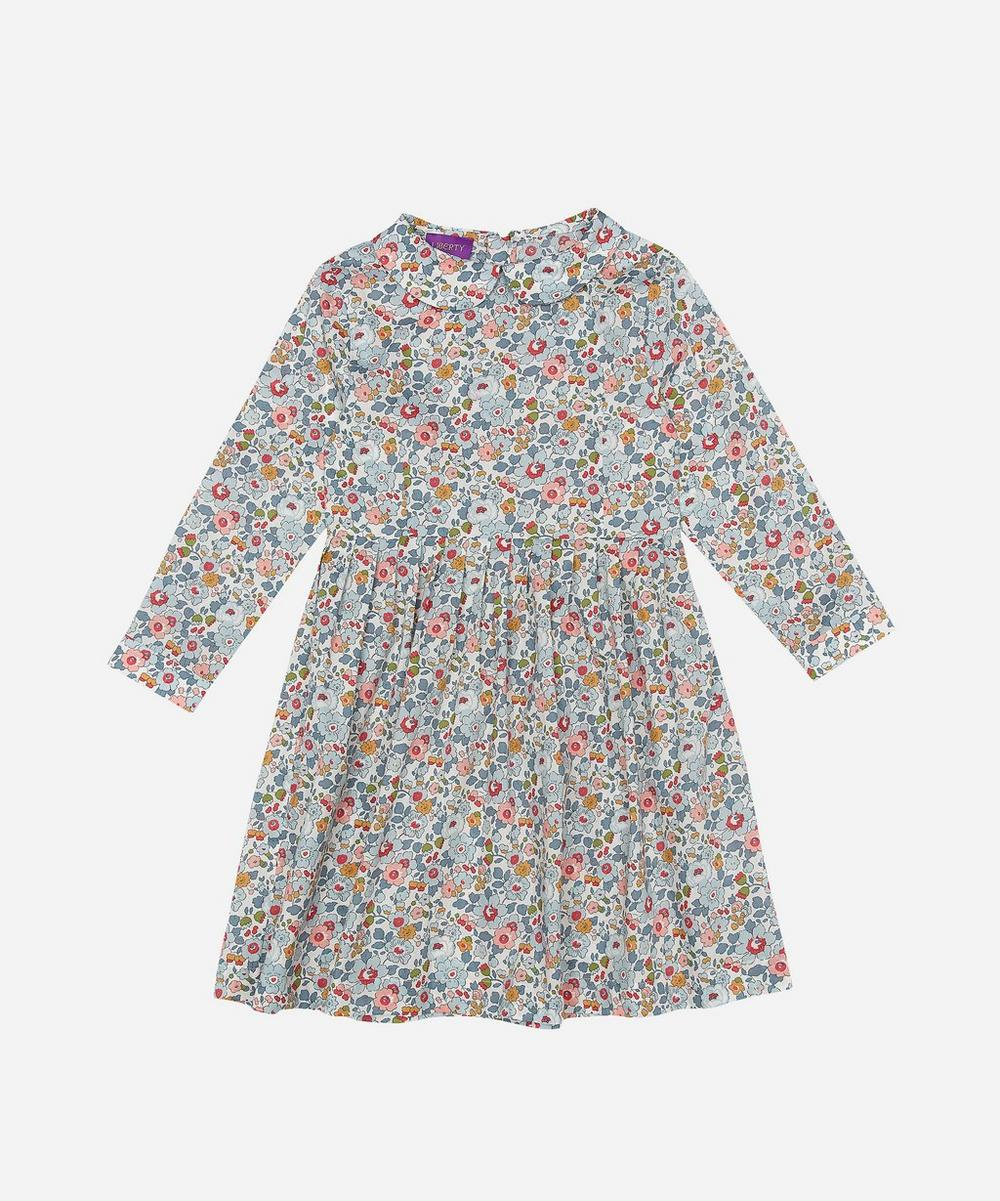 Liberty London - Betsy Long-Sleeve Tana Lawn™ Cotton Dress 2-10 Years