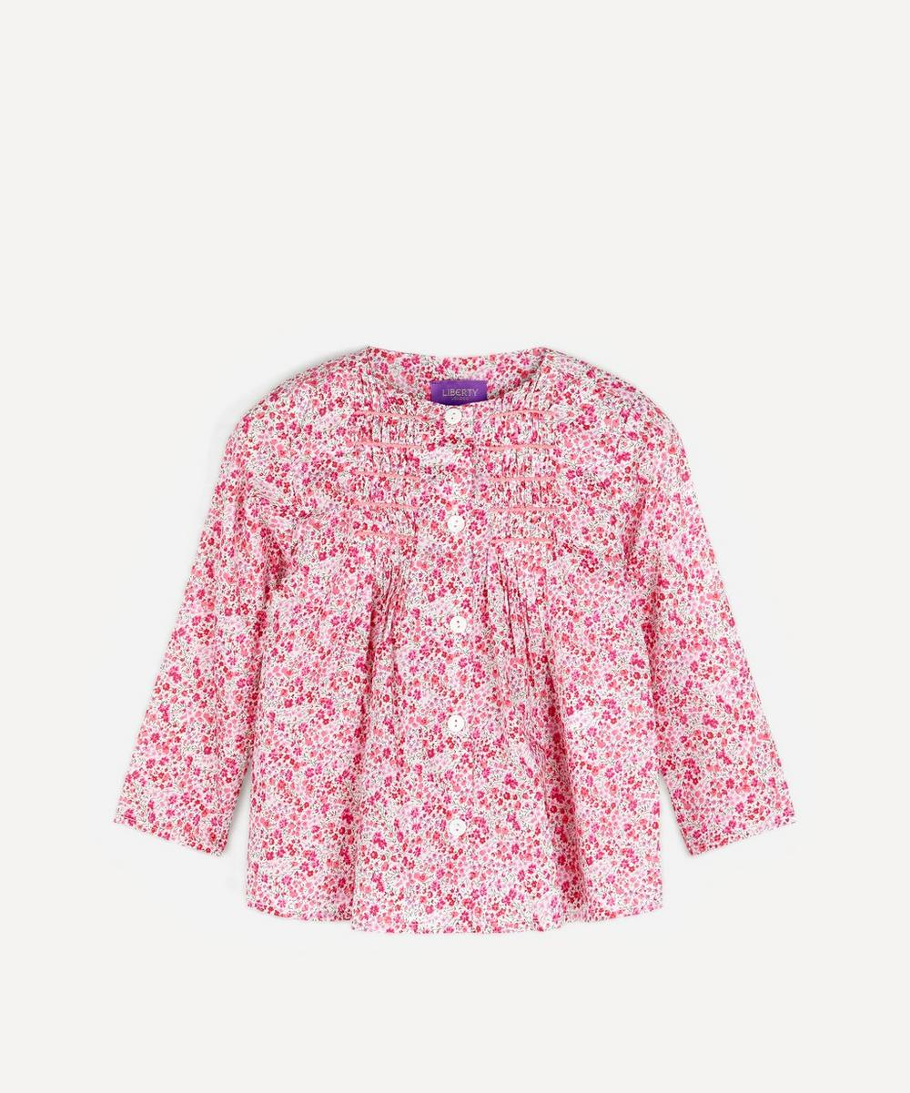 Liberty - Phoebe Smocked Blouse 2-6 Years