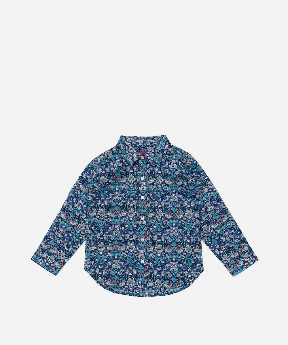 Liberty London - Strawberry Thief Tana Lawn™ Cotton Long-Sleeve Shirt 2-10 Years