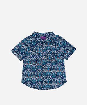 Strawberry Thief Tana Lawn™ Cotton Short-Sleeve Shirt 2-6 Years