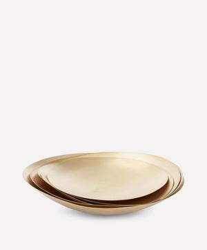 Small Form Brass Bowl Set