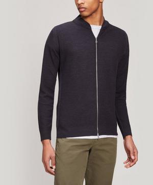 6.Singular Merino Wool Bomber Jacket